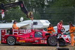 Probleme bei #13 Rebellion Racing, Rebellion R-One: Dominik Kraihamer, Daniel Abt, Alexandré Imperat