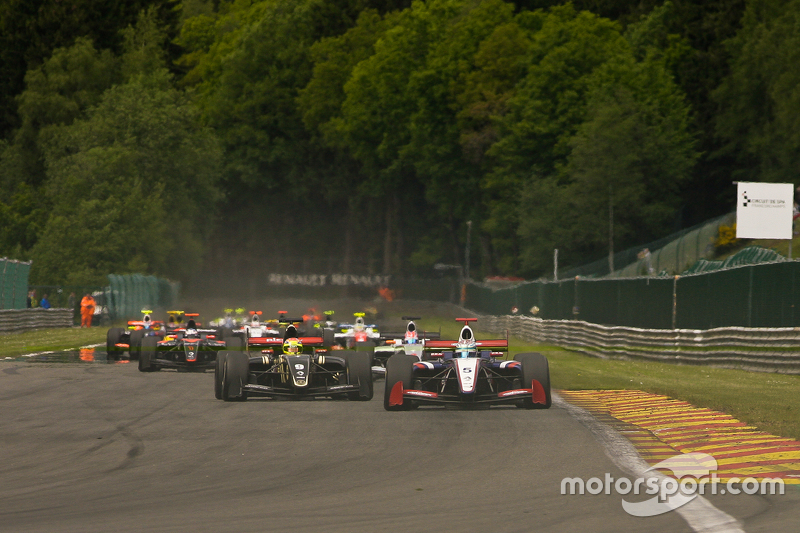 Lap Pertama; #5 Nicholas Latifi, Arden Motorsport