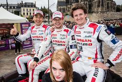 #21 Nissan Motorsports Nissan GT-R LM NISMO: Цугіо Мацуда, Марк Шулжінскі та Лукас Ордоньес
