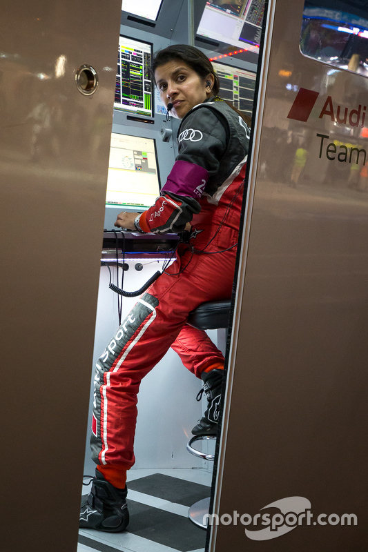 Engineer Leena Gade #7 Audi Sport Team Joest