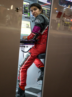 #7 Audi Sport Team Joest engineer Leena Gade