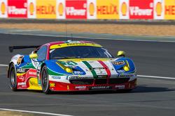 #71 AF Corse Ferrari 458 GTE: Давіде Рігон, Джеймс Каладо, Олів'є Беретта