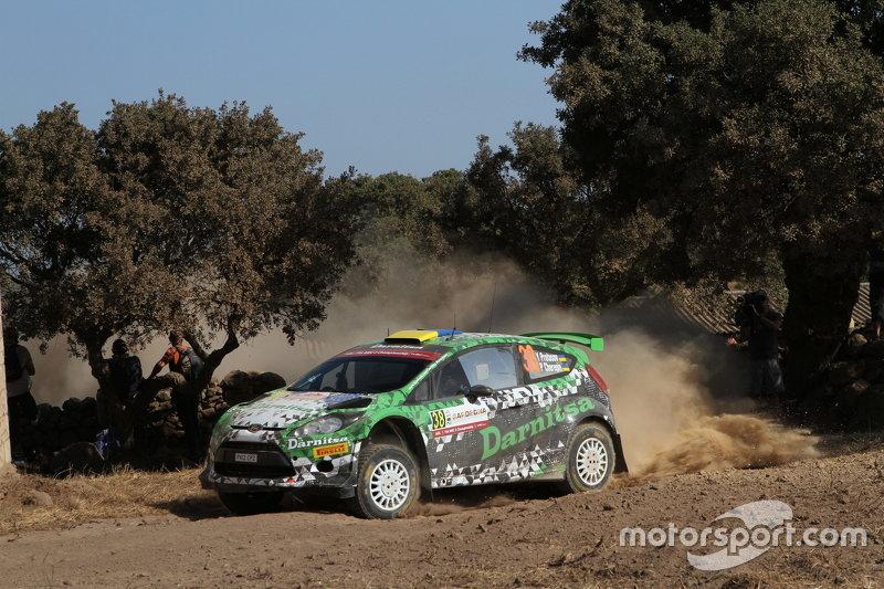 Yurii Protasov , dan Pavlo Cheperin, Ford Fiesta R5