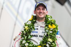 LMP1-Podium: Klassen- und Gesamtsieger, Porsche Team: Nick Tandy