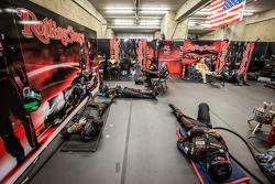 Extreme Speed Motorsports, Teammitglieder schlafen zwischen zwei Boxenstopps