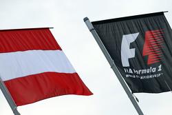 Austria dan bendera F1
