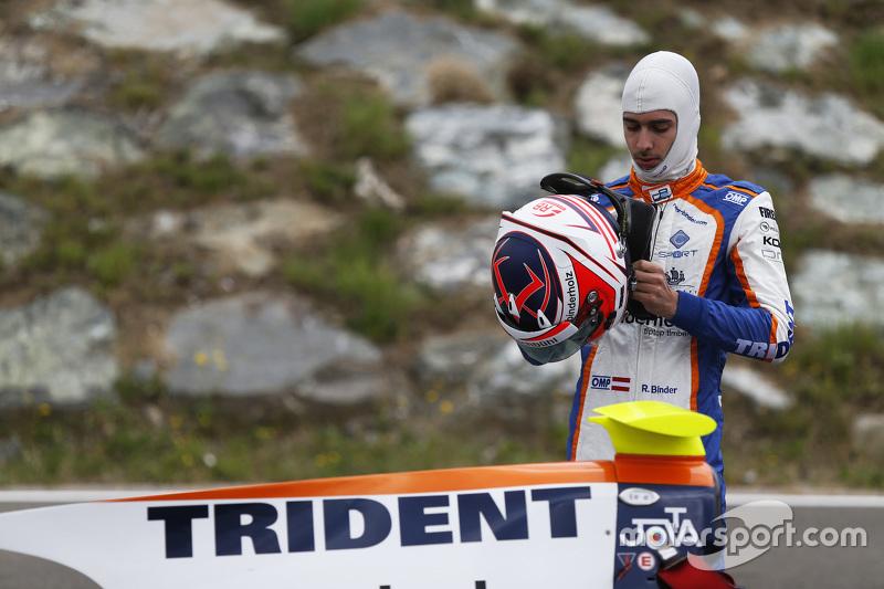 René Binder, Trident