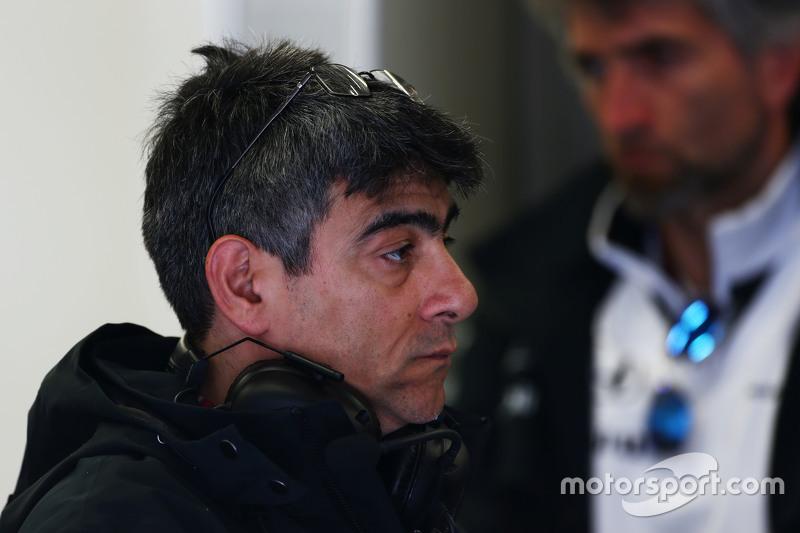 Пітер Продромоу, McLaren Головний інженер