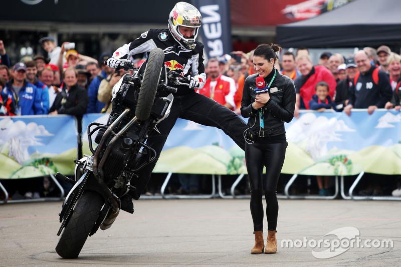 Chris Pfeiffer, Motorbike Stunt Rider