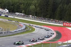 Sandy Stuvik, Status Grand Prix, vor Antonio Fuoco, Carlin