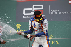 Race winner Luca Ghiotto, Trident