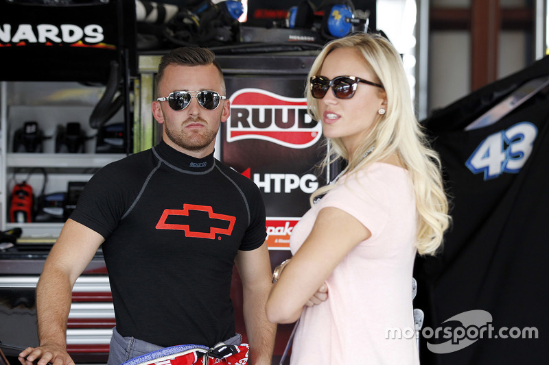 Austin Dillon, Richard Childress Racing, Chevrolet, mit seiner Freundin