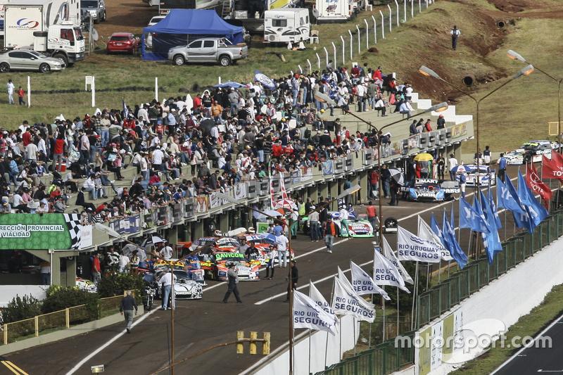 Autodromo Rosamonte pit lane