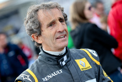 Alain Prost, at the Legends Parade