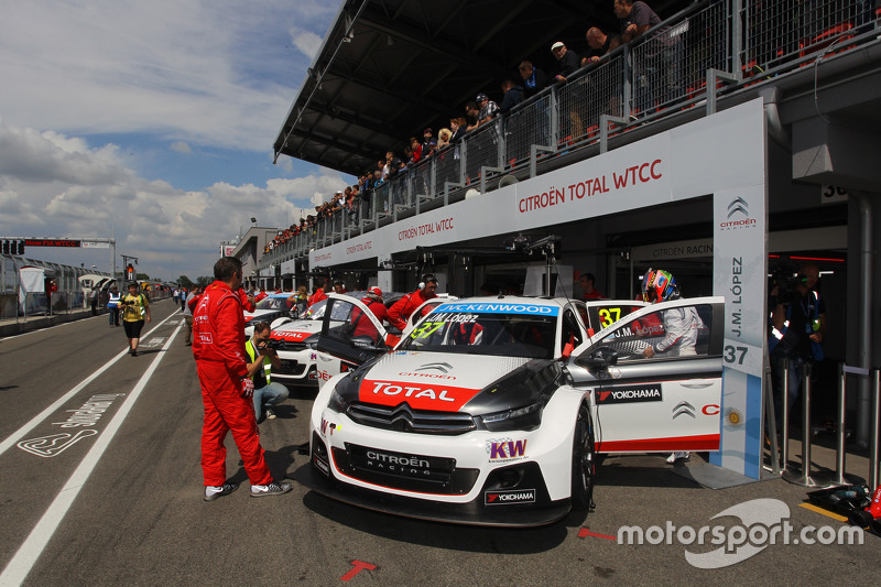 José María López, Citroën C-Elysée WTCC, Citroën World Touring Car team