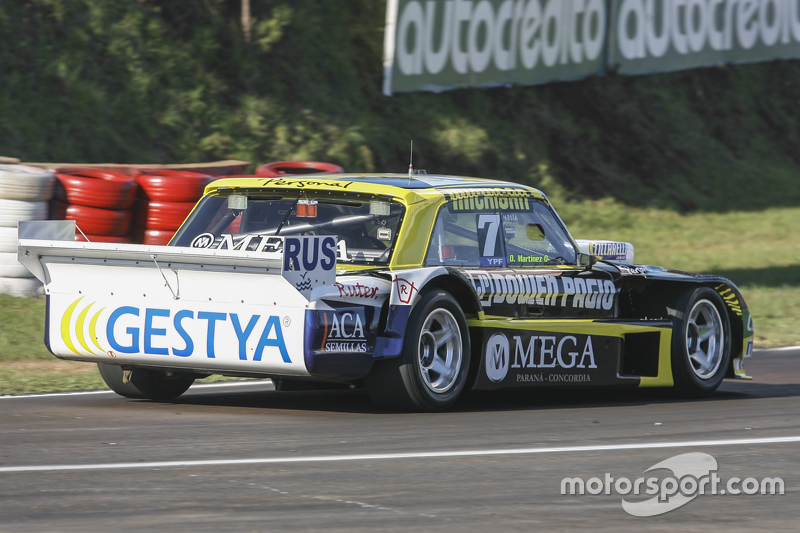 Омар Мартінез, Martinez Competicion Ford