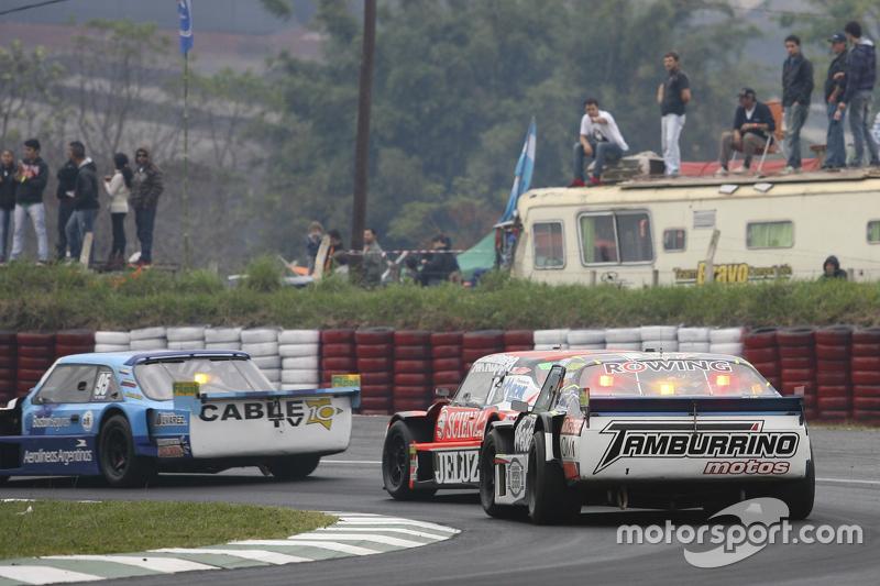 Federico Alonso, Taco Competicion, Torino; Guillermo Ortelli, JP Racing, Chevrolet, und Diego de Carlo, JC Competicion, Chevrolet