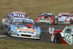 Martin Ponte, RUS Nero53 Racing Dodge, dan Gabriel Ponce de Leon, Ponce de Leon Competicion Ford, da