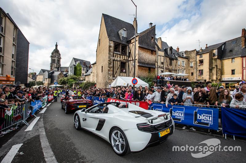 McLaren parade