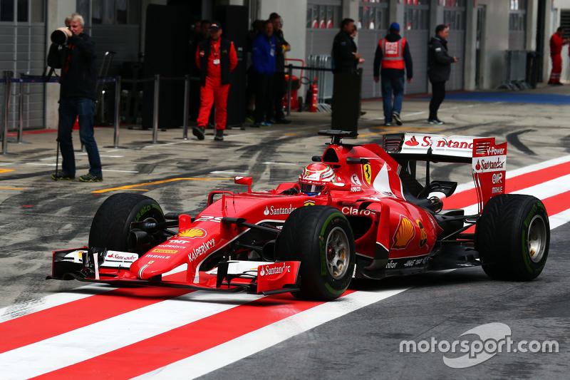 Antonio Fuoco, Testfahrer Ferrari SF15-T
