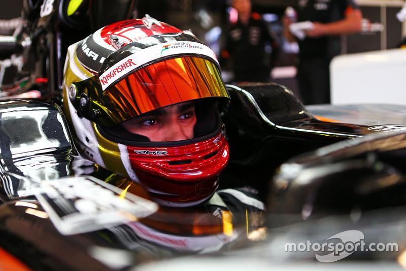 Паскаль Верляйн, Sahara Force India F1 VJM08 Тестовий гонщик