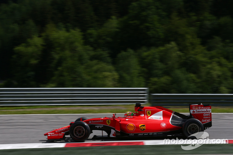Esteban Gutierrez, Ferrari SF15-T Test and Reserve Driver