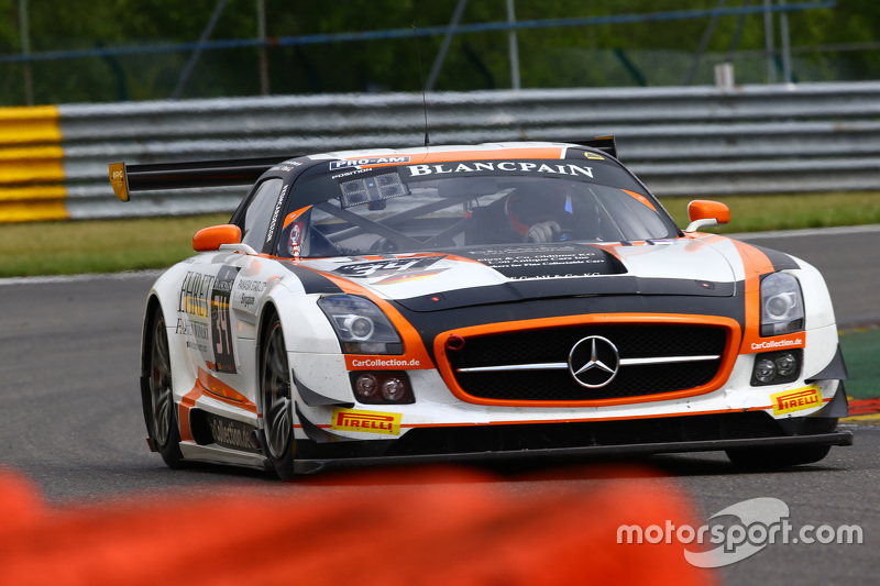 #34 Car Collection Motorsport, Mercedes SLS AMG GT3: Peter Schmidt, Miguel Toril, Kenneth Heyer, Jan Seyffarth