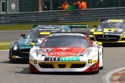 #47 AF Corse, Ferrari 458 Italia: Stéphane Lemeret, Pasin Lathouras, Alessandro Pier Guidi, Gianmari