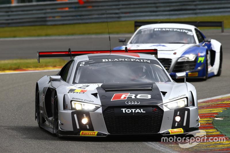 #2 Belgian Belgian Audi Club Team WRT, Audi R8 LMS: Frank Stippler, Stéphane Ortelli, Nico Müller