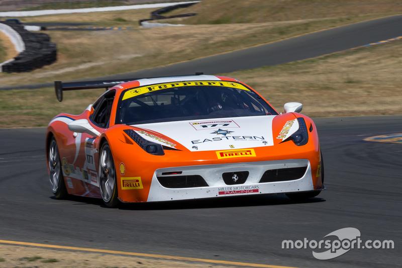 #177 Miller Motor Cars, Ferrari 458: Joe Courtney