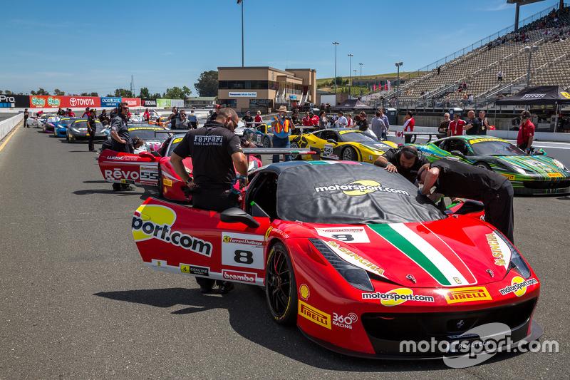 #8 Ferrari of дляt Lauderdale Ferrari 458