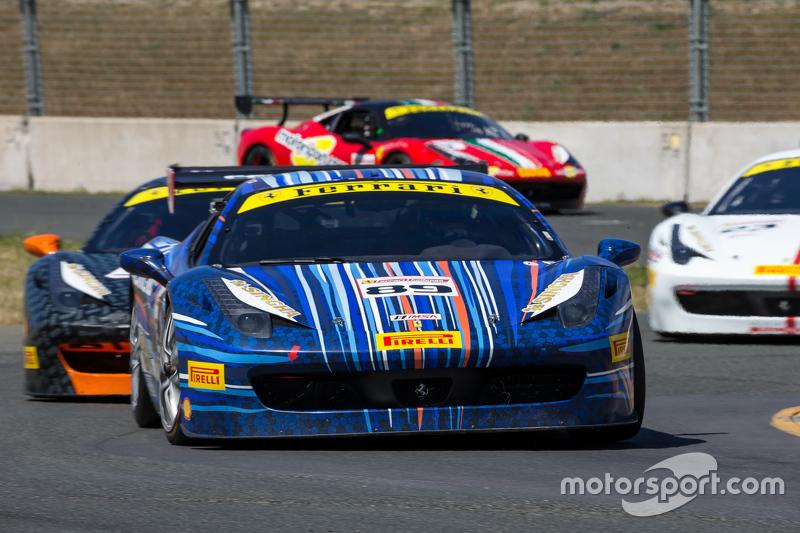#89 Ferrari of Ontario, Ferrari 458: Ryan Ockey