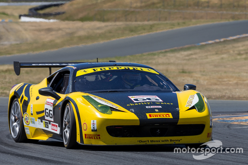 #66 Ferrari of San Francisco, Ferrari 458: Ross Garber