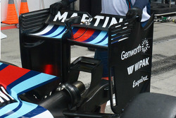 Williams rear wing detail