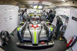 #4 ByKolles Racing CLM P1/01: Simon Trummer, Pierre Kaffer, Tiago Monteiro