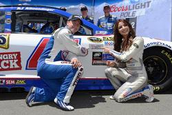 Polesitter A.J. Allmendinger, JTG Daugherty Racing Chevrolet