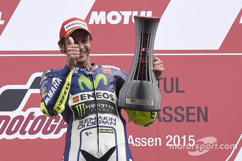 Juara balapan Valentino Rossi, Yamaha Factory Racing