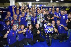 Race winnaar Valentino Rossi, Yamaha Factory Racing