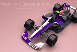 Formel-1-Konzeptstudien von Andries van Overbeeke