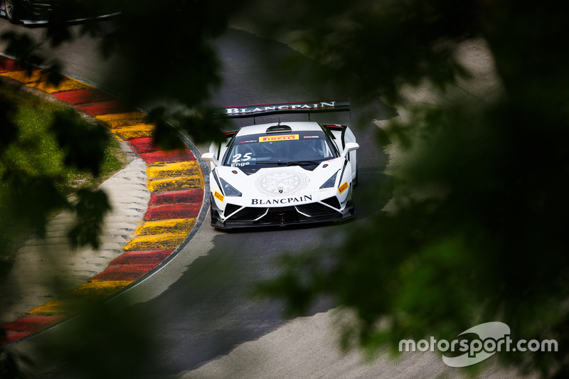 #25 Blancpain Racing, Lamborghini Gallardo GT3 FL2: Tomas Enge