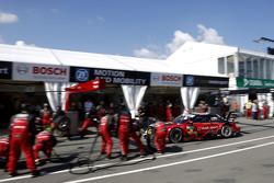 Boxenstopp für Miguel Molina, Audi Sport Team Abt, Audi RS 5 DTM