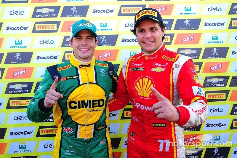 Marcos Gomes und Valdeno Brito
