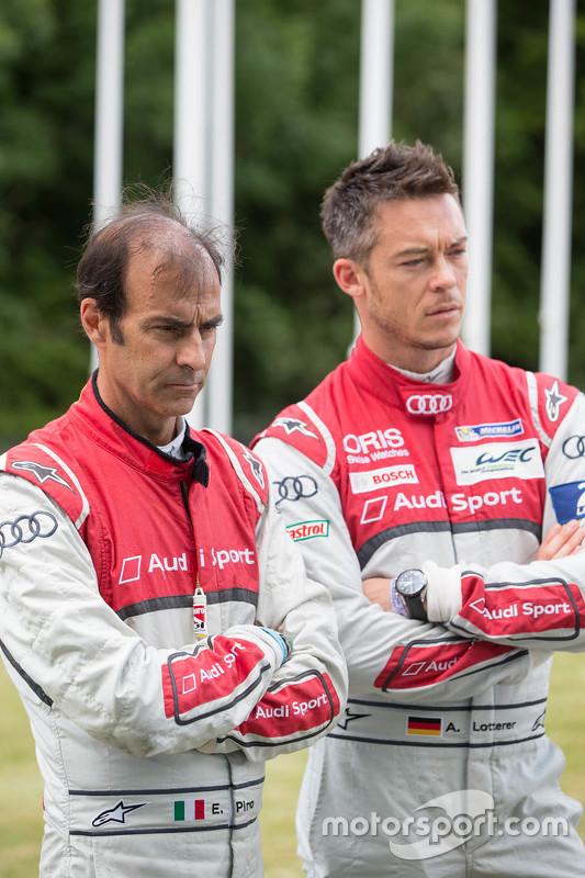 Emanuele Pirro e Andre Lotterer