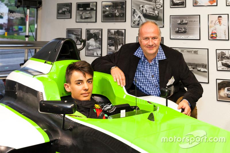 Moritz Müller-Crepon, Jenzer Motorsport, und Andreas Jenzer