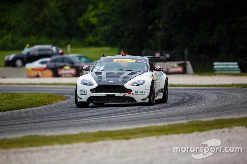 #34 Capaldi Racing Aston Martin Vantage GT4: Nick Esayian