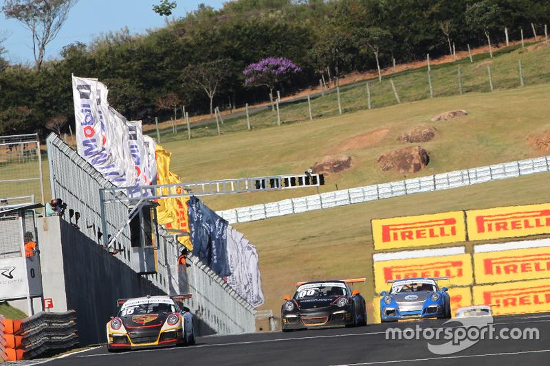 Porsches em ação