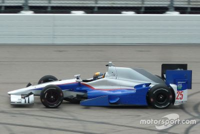 Matthew Brabham Andretti Autosport test 2