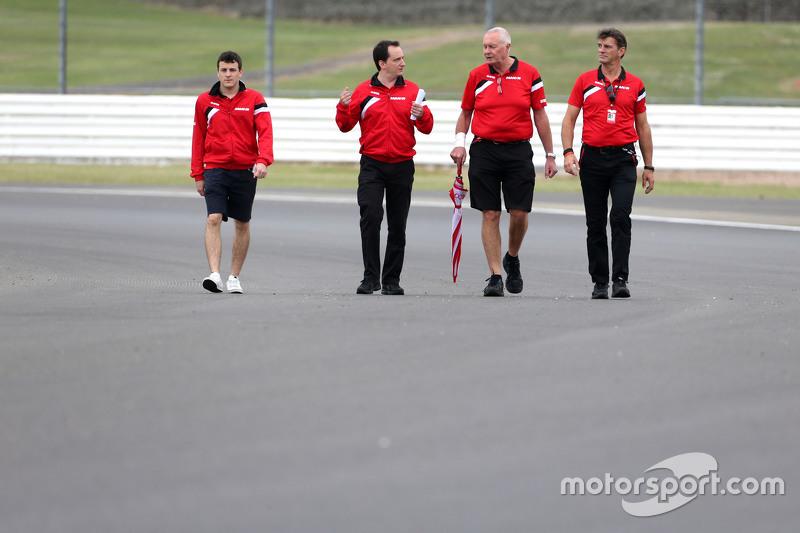 Fabio Leimer, Manor F1 Team Reserve Driver, John Booth, Team Principal, Manor F1 Team