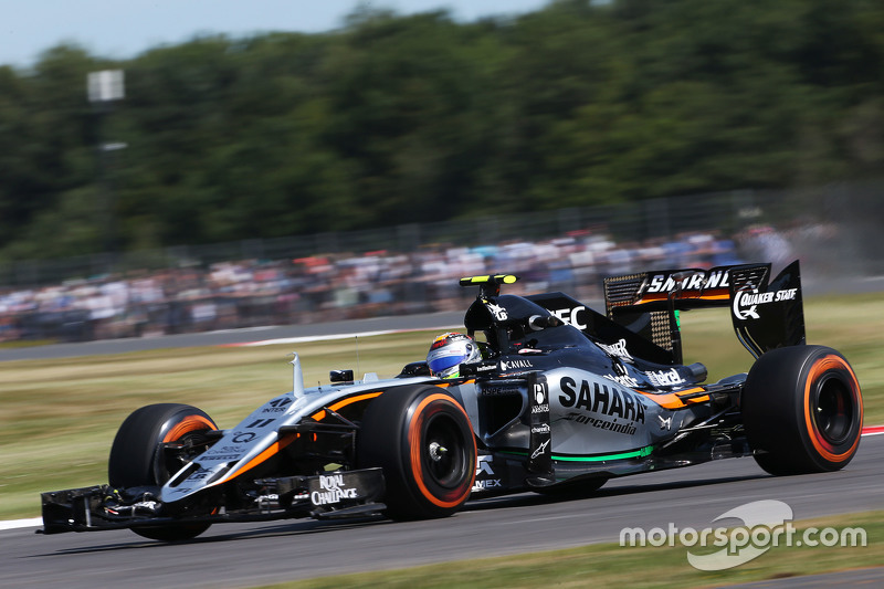 Sergio Perez, Sahara Force India F1 VJM08