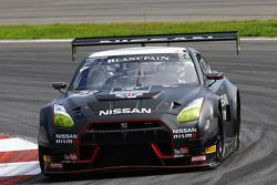 #23 Nissan GT Academy Team RJN, Nissan GT-R Nismo GT3: Mark Shulzhitskiy, Nick Hammann